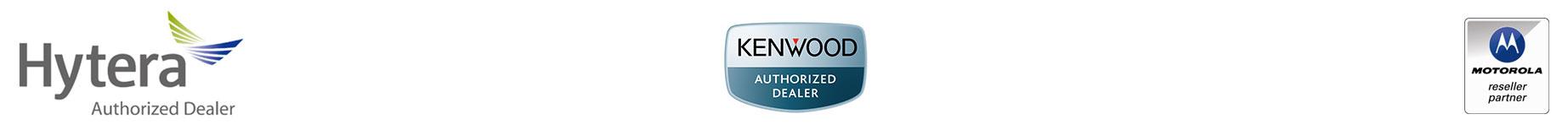 hytera kenwood motorola logos